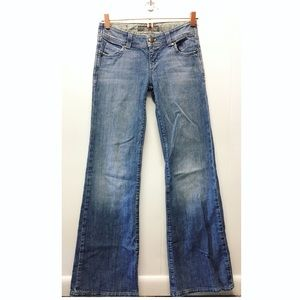 Anthropologie | Level 99 Flare Jeans Mid-Rise EUC